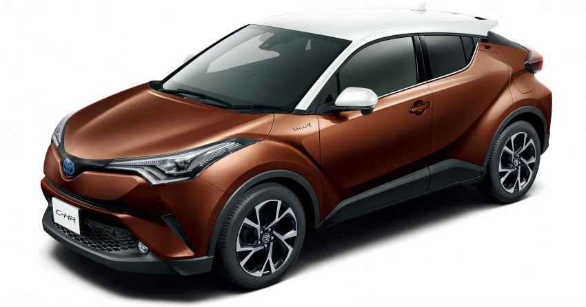 Toyota C-HR gets two-tone exterior colours in Japan Image #692520