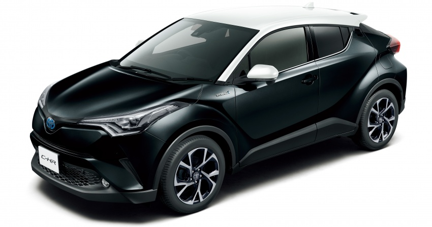 Toyota C-HR gets two-tone exterior colours in Japan Image #692521