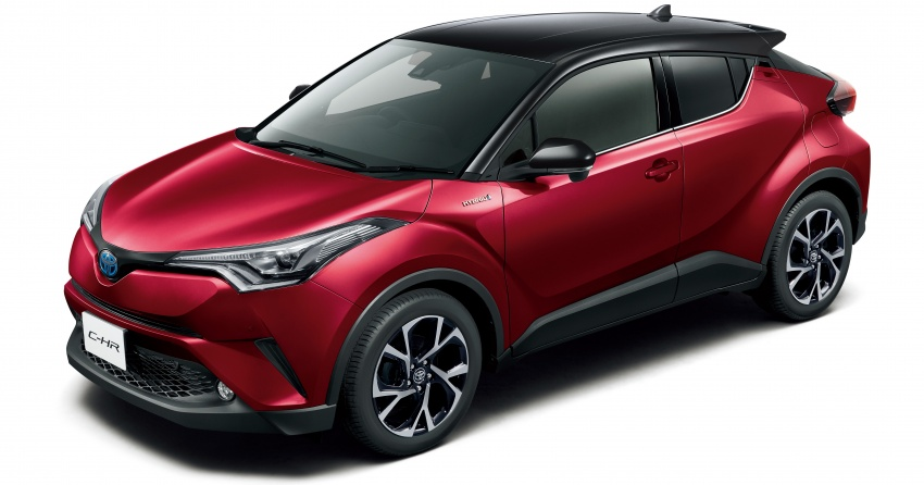 Toyota C-HR gets two-tone exterior colours in Japan Image #692523