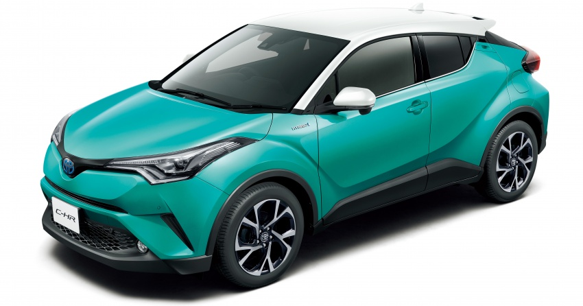 Toyota C-HR gets two-tone exterior colours in Japan Image #692524