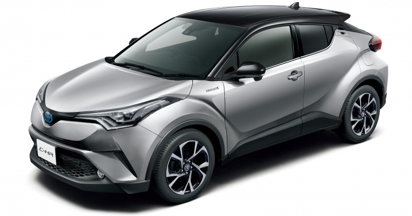 Toyota C-HR gets two-tone exterior colours in Japan Image #692525