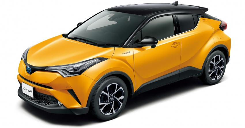 Toyota C-HR gets two-tone exterior colours in Japan Paul ...