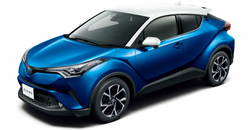 Toyota C-HR gets two-tone exterior colours in Japan Image #692527