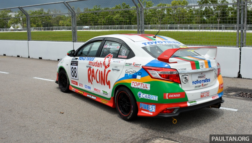 2017 Toyota Gazoo Racing Festival – all the thrills and spills from day one of the Toyota Vios Challenge Image #697532