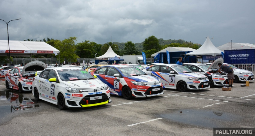 2017 Toyota Gazoo Racing Festival – all the thrills and spills from day one of the Toyota Vios Challenge Image #697538