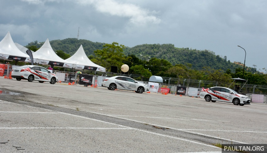 2017 Toyota Gazoo Racing Festival – all the thrills and spills from day one of the Toyota Vios Challenge Image #697543