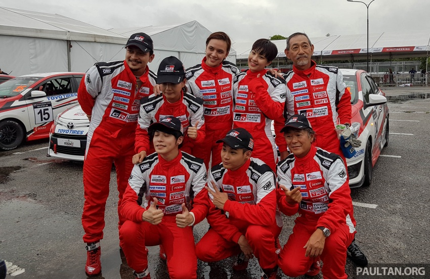 2017 Toyota Gazoo Racing Festival – all the thrills and spills from day one of the Toyota Vios Challenge Image #697599