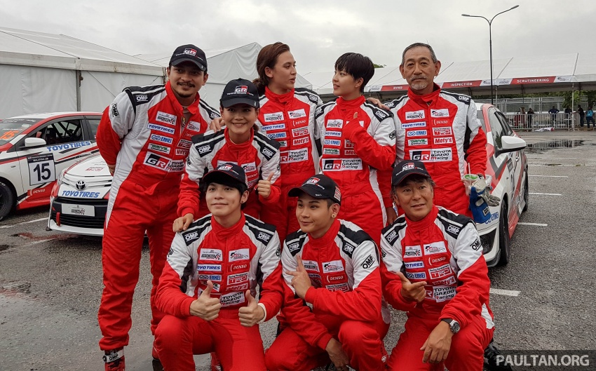 2017 Toyota Gazoo Racing Festival – all the thrills and spills from day one of the Toyota Vios Challenge Image #697600