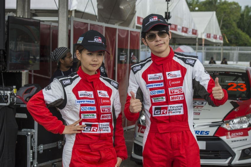 2017 Toyota Gazoo Racing Festival – all the thrills and spills from day one of the Toyota Vios Challenge Image #697615