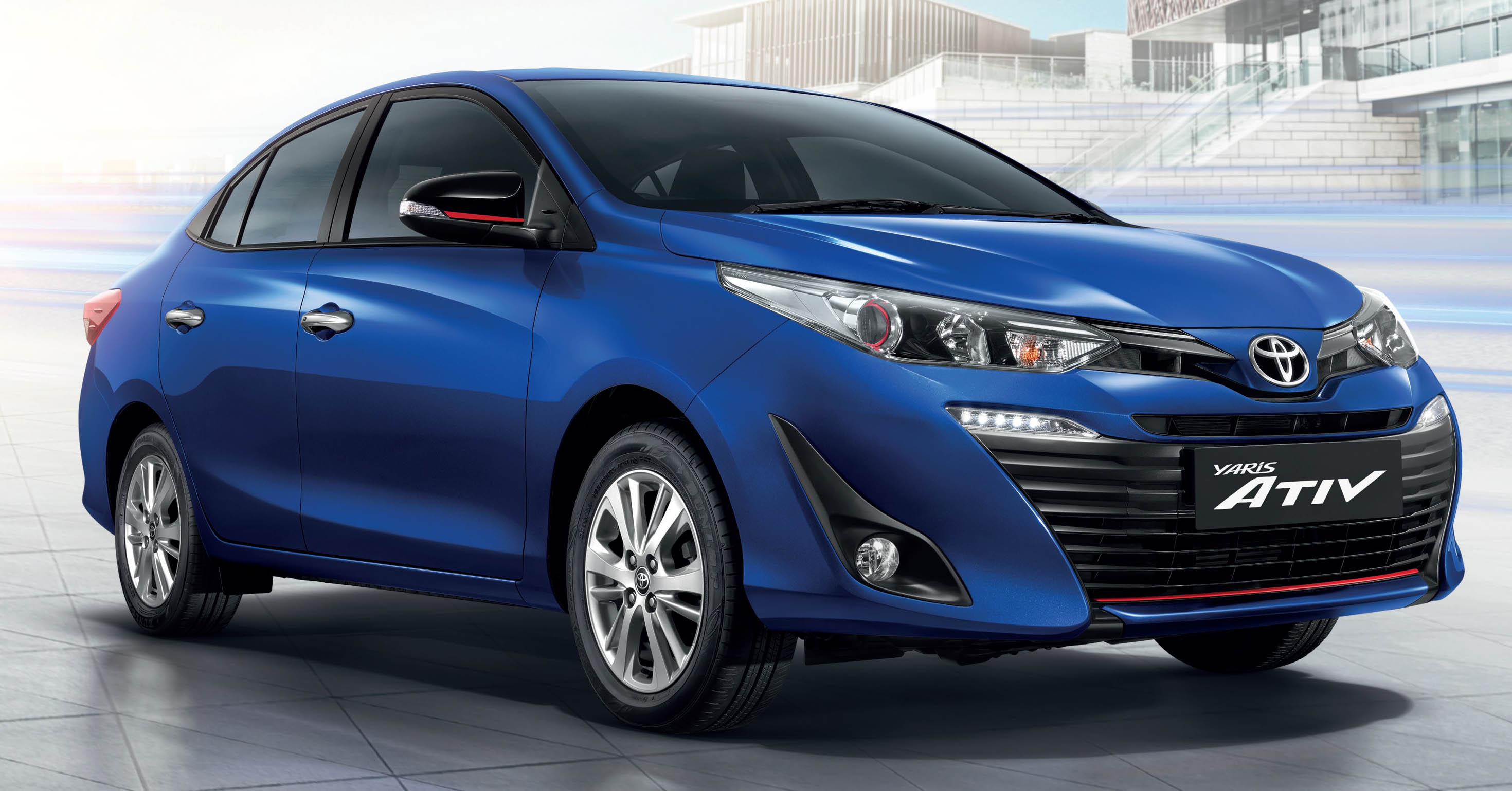 New Toyota Yaris Ativ launched in Thailand – 1.2L, 7 airbags standard, priced from 469k baht ...