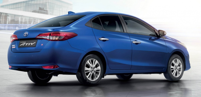 New Toyota Yaris Ativ launched in Thailand – 1.2L, 7 airbags standard, priced from 469k baht (RM60k) Image #698795