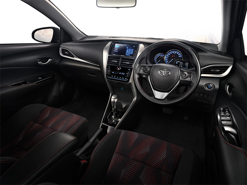 New Toyota Yaris Ativ launched in Thailand – 1.2L, 7 airbags standard, priced from 469k baht (RM60k) Image #698863