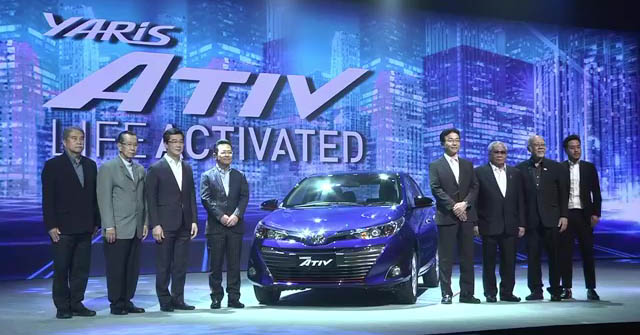 New Toyota Yaris Ativ launched in Thailand – 1.2L, 7 airbags standard, priced from 469k baht (RM60k) Image #698868
