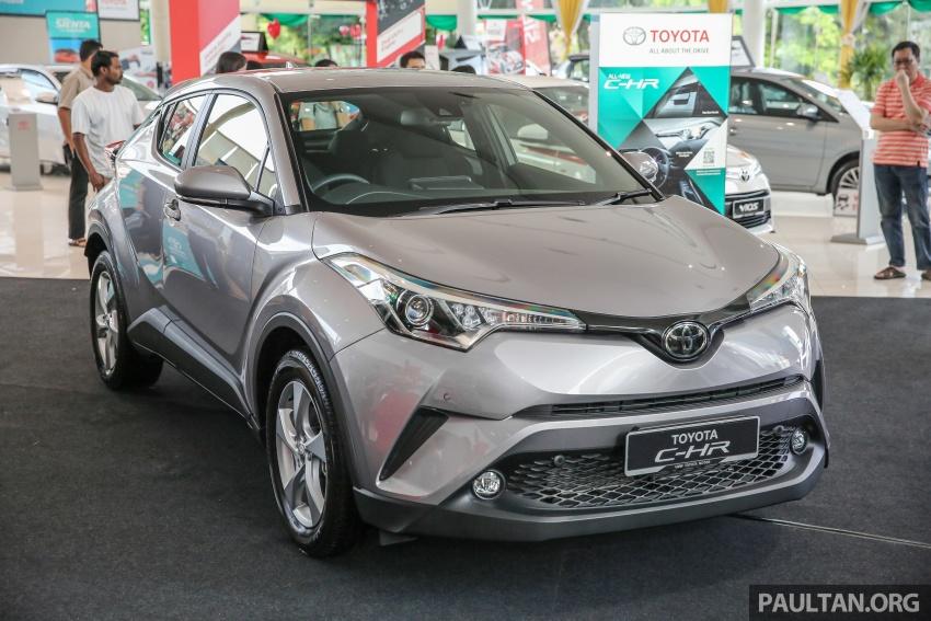 GALLERY: Toyota C-HR in M'sia – full exterior, interior Image #694051