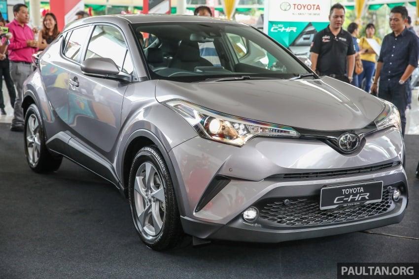 GALLERY: Toyota C-HR in M'sia – full exterior, interior Image #693863