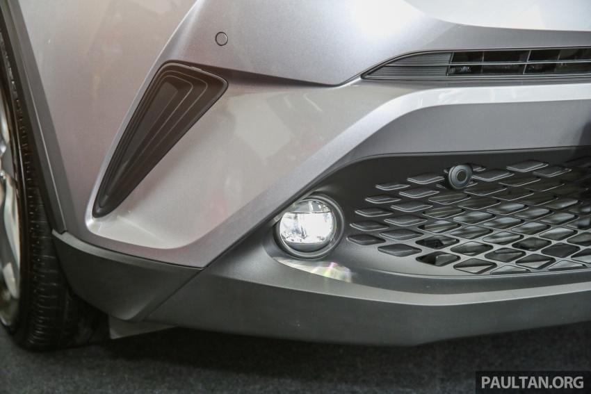 GALLERY: Toyota C-HR in M'sia – full exterior, interior Image #693872