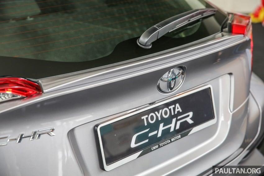 GALLERY: Toyota C-HR in M'sia – full exterior, interior Image #693879