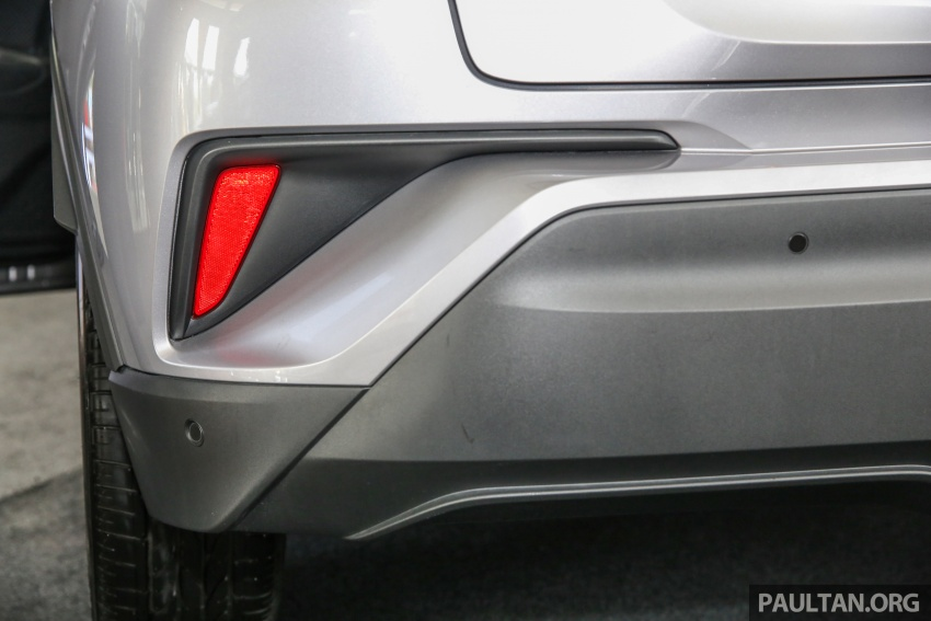GALLERY: Toyota C-HR in M'sia – full exterior, interior Image #693880