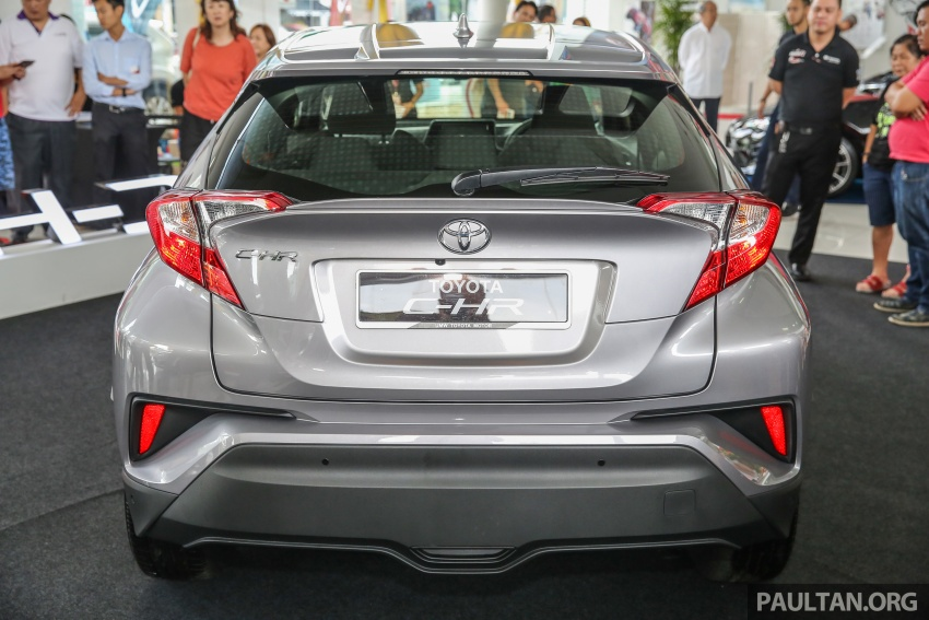 GALLERY: Toyota C-HR in M'sia – full exterior, interior Image #693865