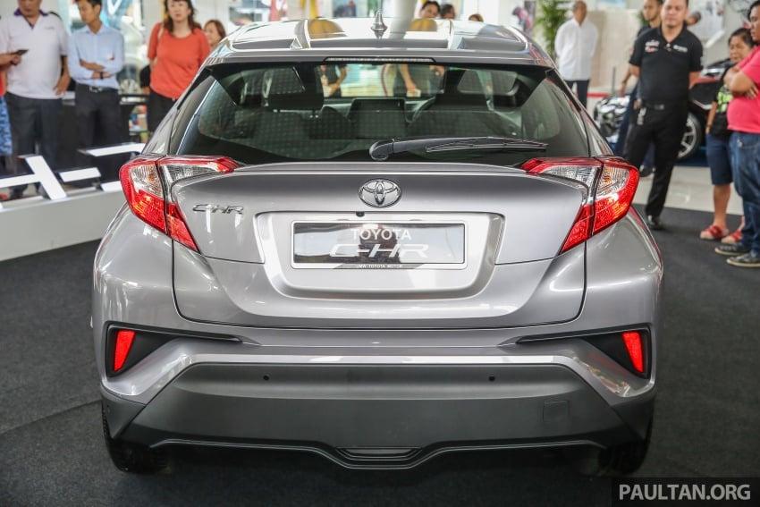 GALLERY: Toyota C-HR in M'sia – full exterior, interior Image #693865