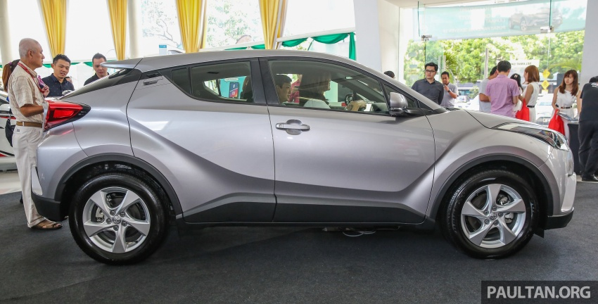 GALLERY: Toyota C-HR in M'sia – full exterior, interior Image #693866
