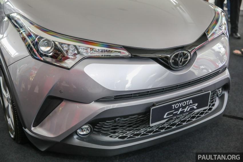 GALLERY: Toyota C-HR in M'sia – full exterior, interior Image #693867