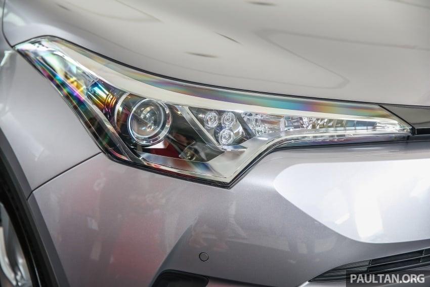 GALLERY: Toyota C-HR in M'sia – full exterior, interior Image #693868