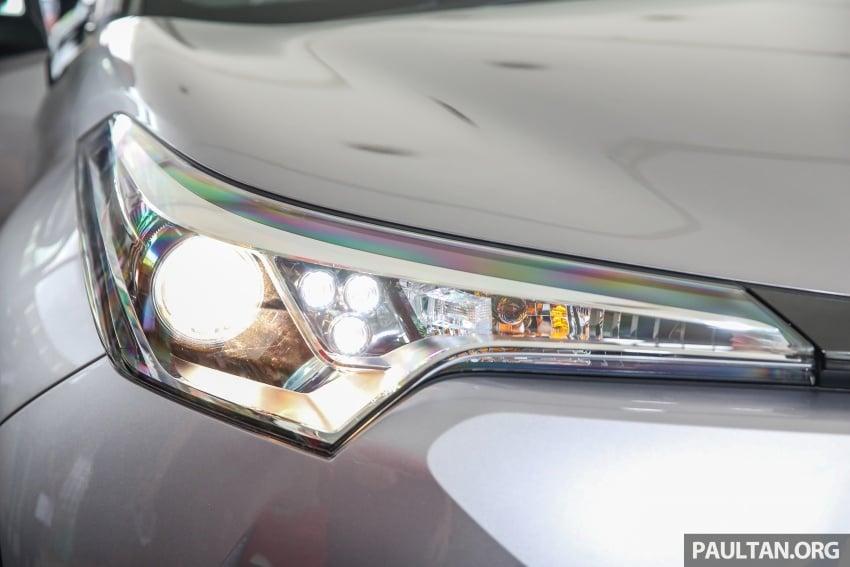 GALLERY: Toyota C-HR in M'sia – full exterior, interior Image #693869