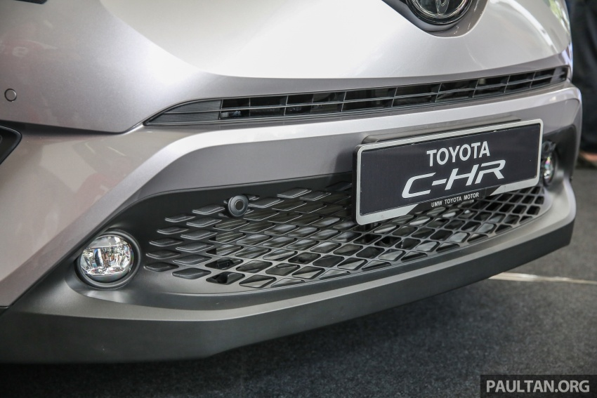 GALLERY: Toyota C-HR in M'sia – full exterior, interior Image #693871