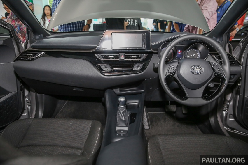 GALLERY: Toyota C-HR in M'sia – full exterior, interior Image #693890
