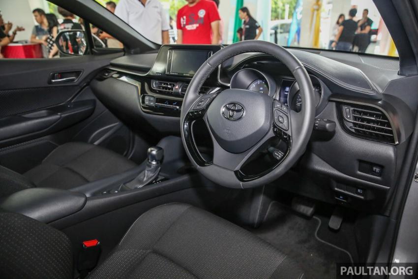 GALLERY: Toyota C-HR in M'sia – full exterior, interior Image #693891
