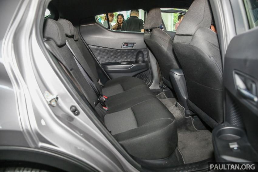 GALLERY: Toyota C-HR in M'sia – full exterior, interior Image #693920