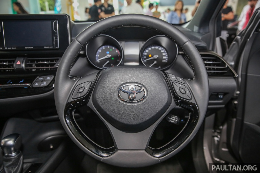 GALLERY: Toyota C-HR in M'sia – full exterior, interior Image #693892