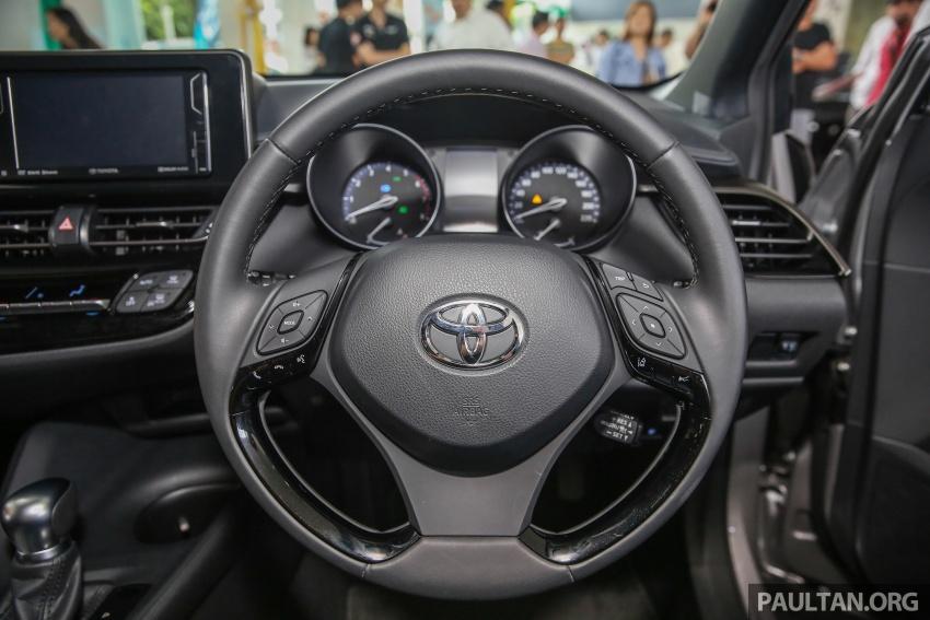 GALLERY: Toyota C-HR in M'sia – full exterior, interior Image #693892
