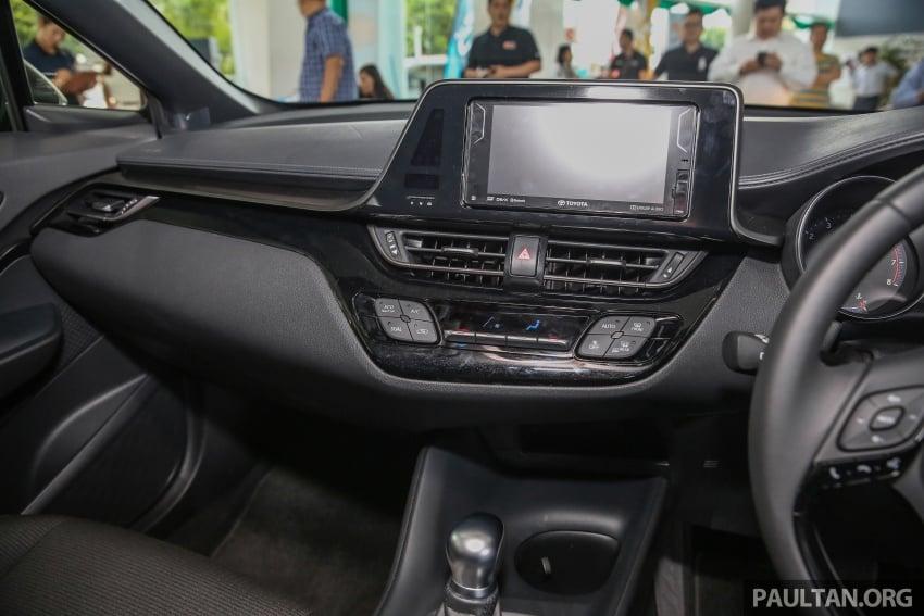 GALLERY: Toyota C-HR in M'sia – full exterior, interior Image #693896