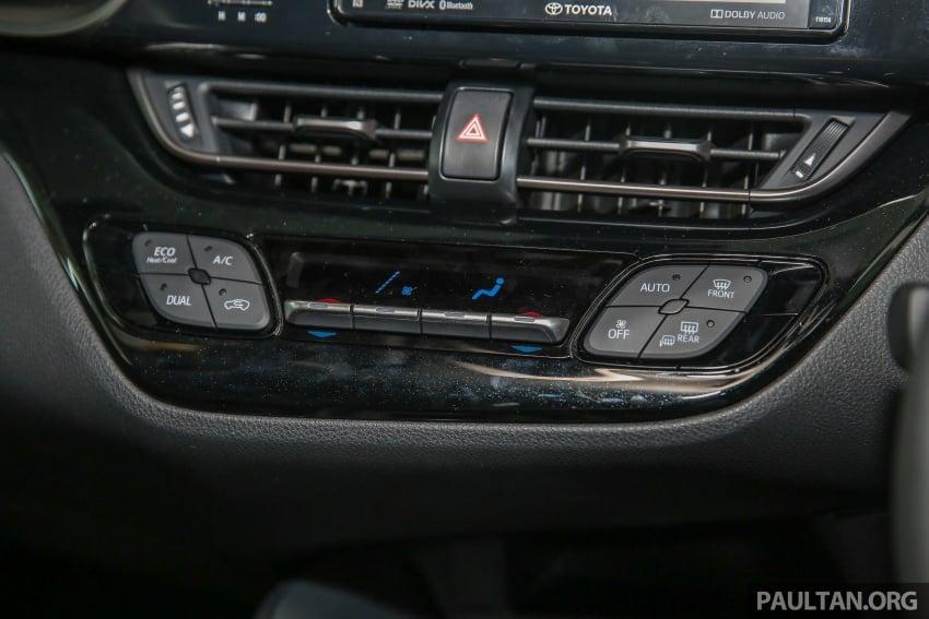 GALLERY: Toyota C-HR in M'sia – full exterior, interior Image #693898