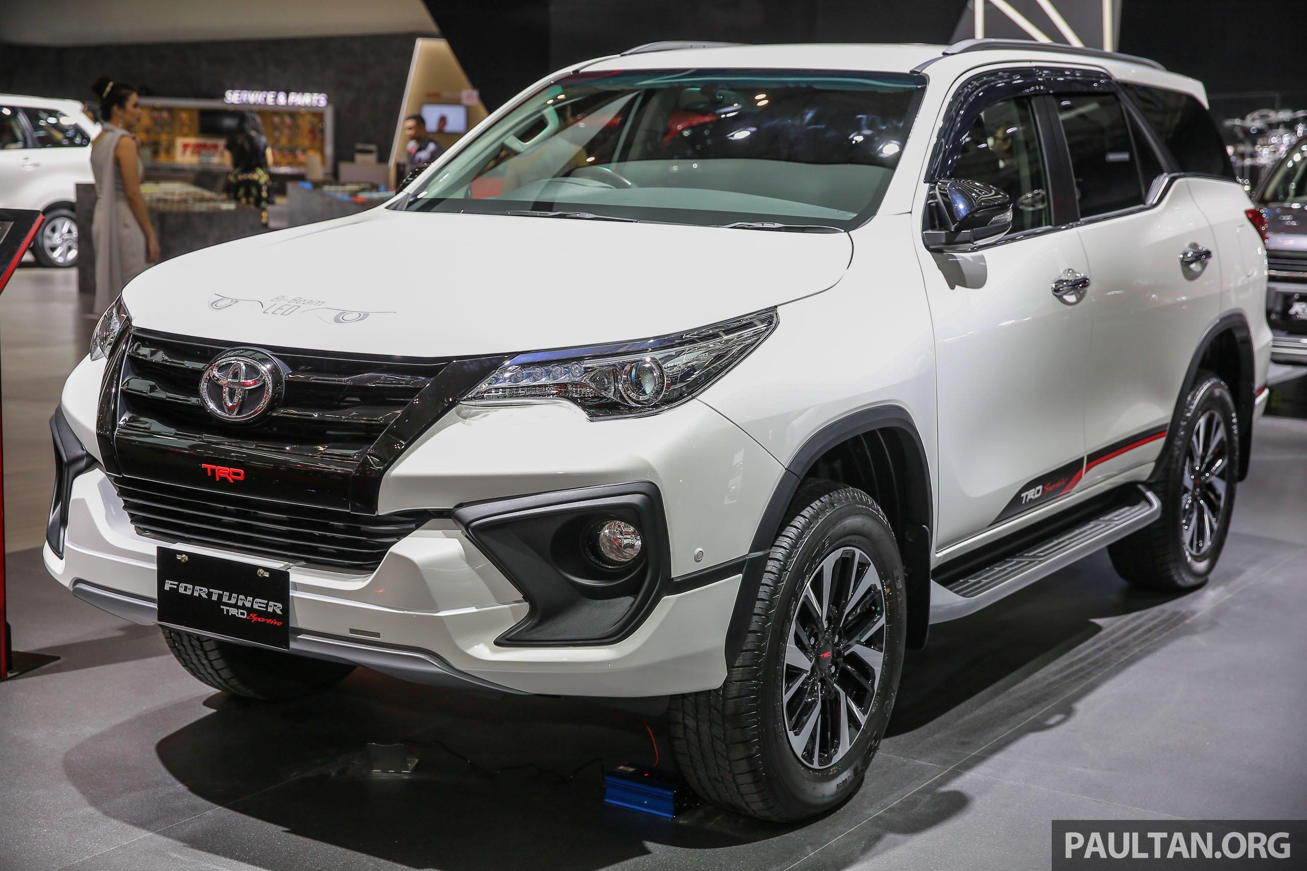 GIIAS 2017 Toyota Fortuner TRD Sportivo Indo Spec Image