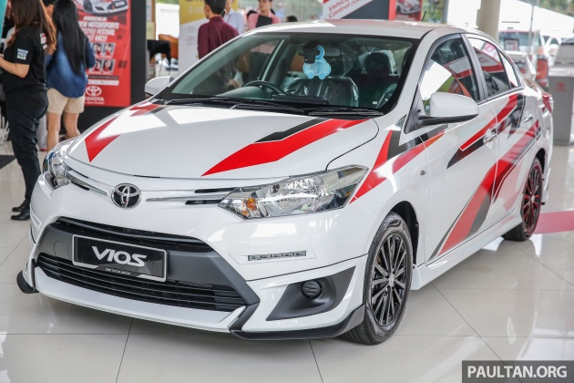 Costly Car Tune Up >> GALLERY: Toyota Vios Sports Edition - lower, sportier