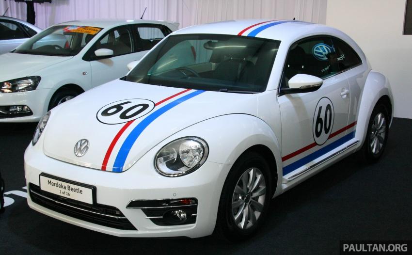 Volkswagen Beetle Edisi Merdeka ke-60 dilancarkan – imej seperti 'Herbie', terhad hanya 16 unit, RM136,888 Image #697175
