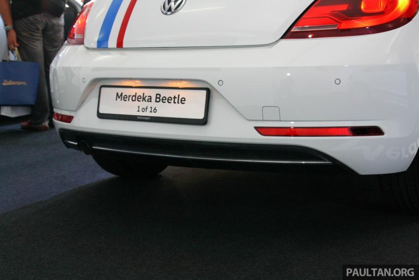 Volkswagen Beetle Edisi Merdeka ke-60 dilancarkan – imej seperti 'Herbie', terhad hanya 16 unit, RM136,888 Image #697176