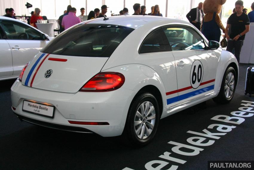 Volkswagen Beetle Edisi Merdeka ke-60 dilancarkan – imej seperti 'Herbie', terhad hanya 16 unit, RM136,888 Image #697177