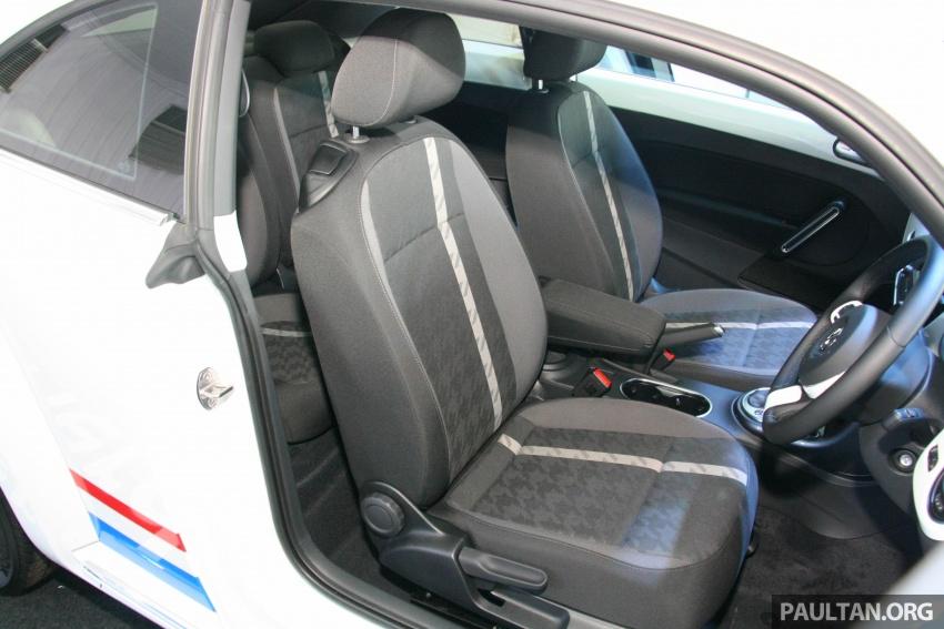 Volkswagen Beetle Edisi Merdeka ke-60 dilancarkan – imej seperti 'Herbie', terhad hanya 16 unit, RM136,888 Image #697178