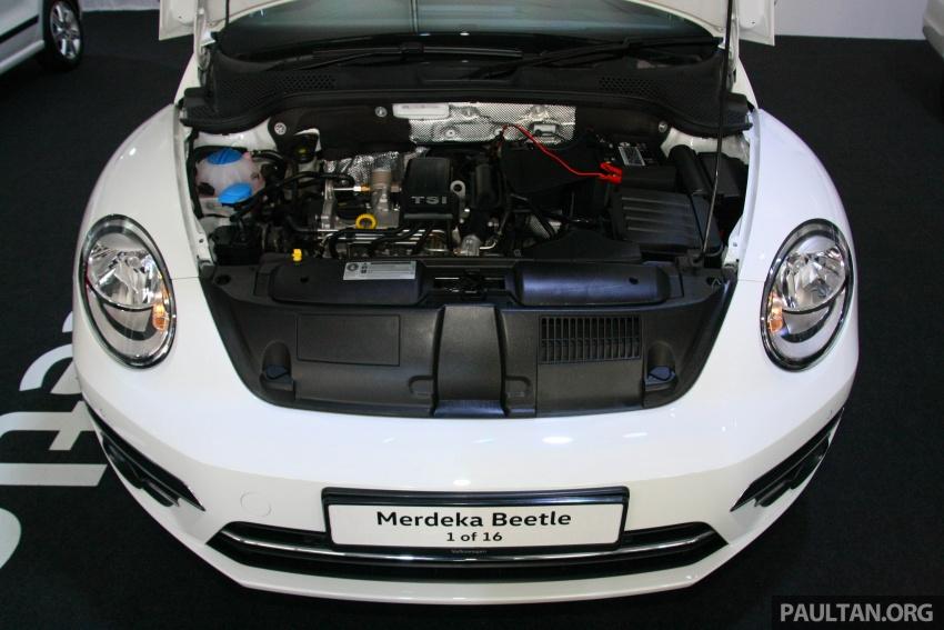 Volkswagen Beetle Edisi Merdeka ke-60 dilancarkan – imej seperti 'Herbie', terhad hanya 16 unit, RM136,888 Image #697248