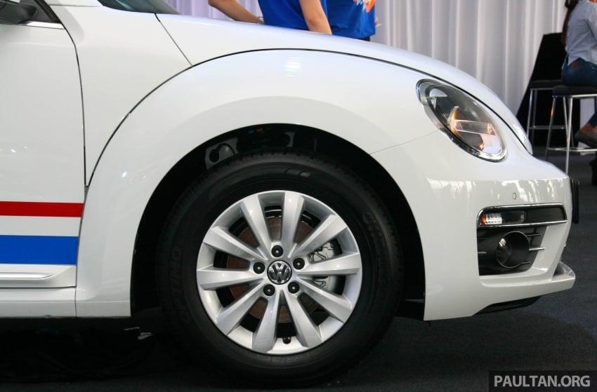 Volkswagen Beetle Edisi Merdeka ke-60 dilancarkan – imej seperti 'Herbie', terhad hanya 16 unit, RM136,888 Image #697264