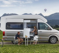 VW California XXL Concept, the ultimate holiday home