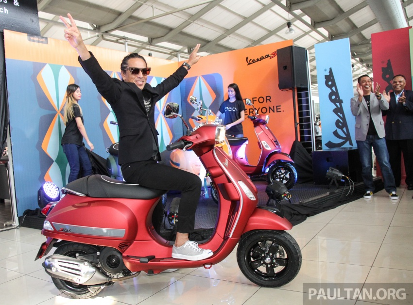2017 Vespa S 125 i-GET and Piaggio Medley S 150 ABS launched – RM12,603 and RM18,327, respectively Image #695492