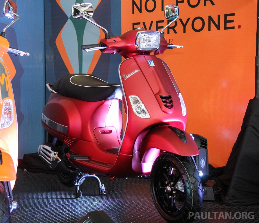 2017 Vespa S 125 i-GET and Piaggio Medley S 150 ABS launched – RM12,603 and RM18,327, respectively Image #695513