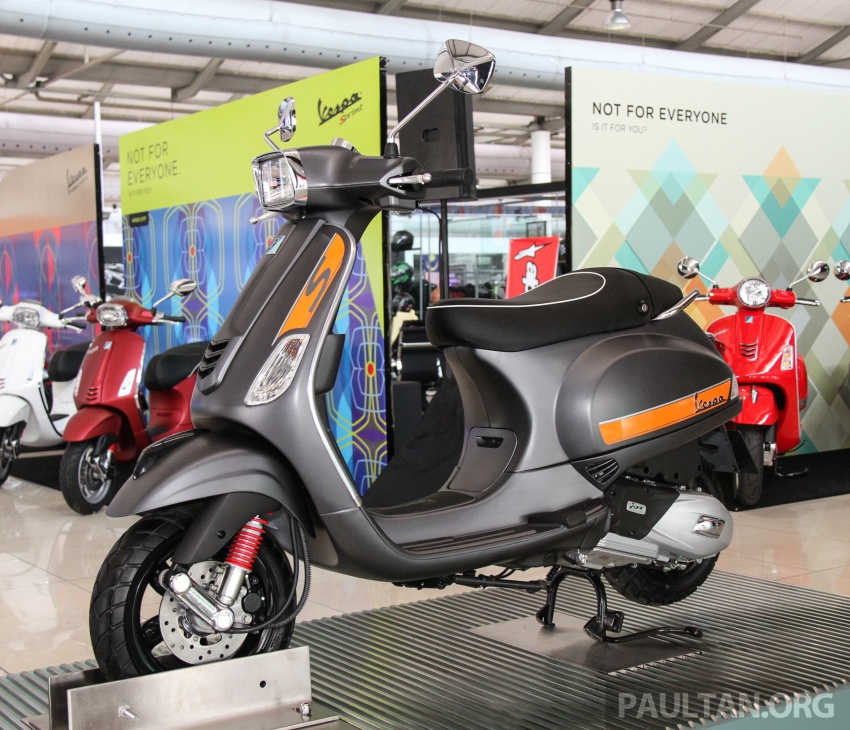 2017 Vespa S 125 i-GET and Piaggio Medley S 150 ABS launched – RM12,603 and RM18,327, respectively Image #695518