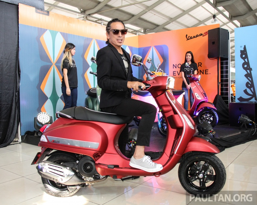 2017 Vespa S 125 i-GET and Piaggio Medley S 150 ABS launched – RM12,603 and RM18,327, respectively Image #695494
