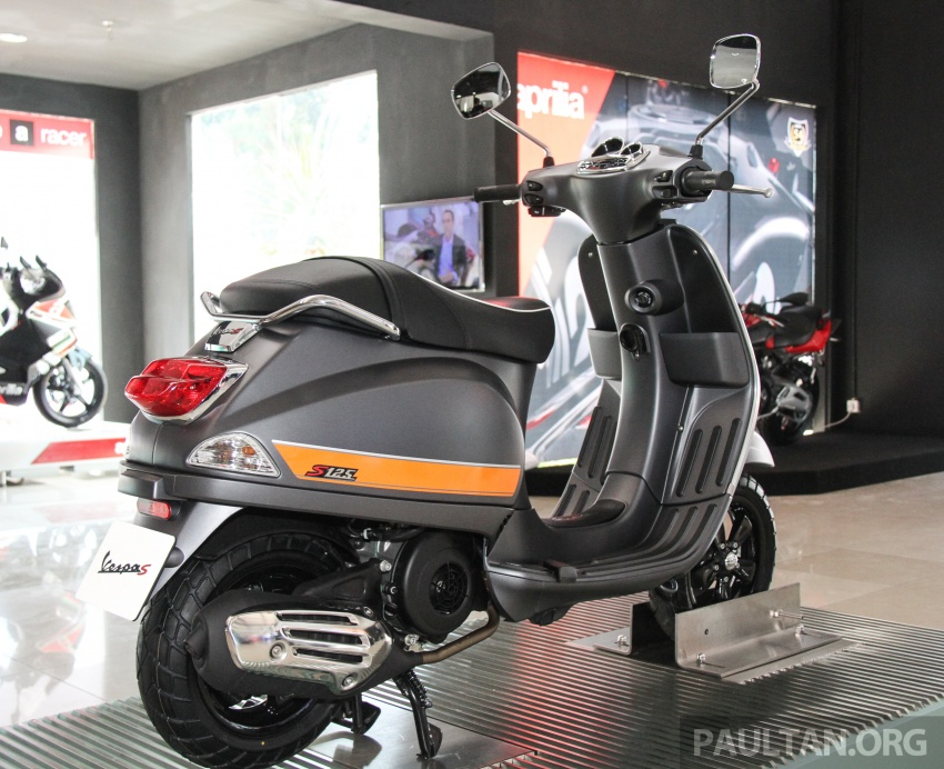 2017 Vespa S 125 i-GET and Piaggio Medley S 150 ABS launched – RM12,603 and RM18,327, respectively Image #695521
